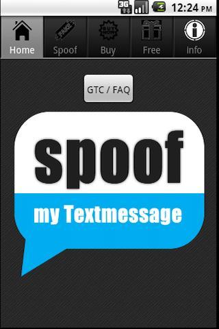Spoof Text Message - screenshot