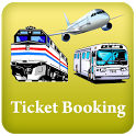 IRCTC and BUS Ticket Booking icon