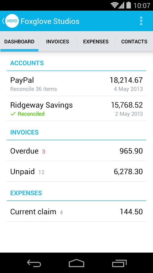 Xero Accounting Software - screenshot
