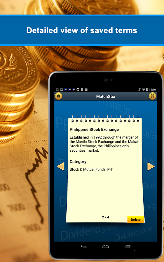 Financial and Banking Terms - Android Apps on Google Play