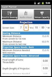 Super Planner - Event Planning: miniatura de captura de pantalla