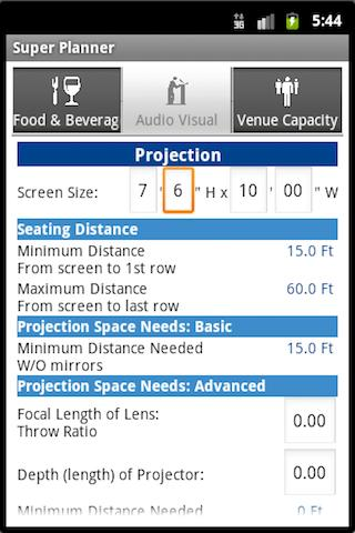 Super Planner - Event Planning: captura de pantalla