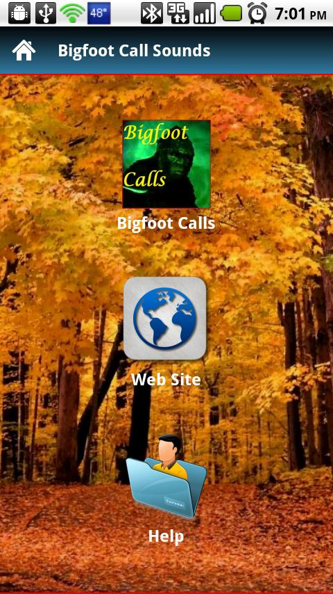 Bigfoot Call Sounds - screenshot