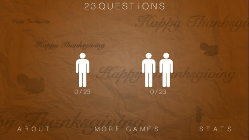 23 Questions Thanksgiving