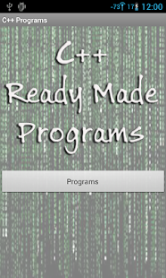 C++ Ready Made Programs