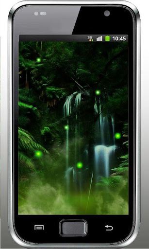 Jungles Night Fireflies HD LWP