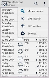 Weather lite screenshot 0