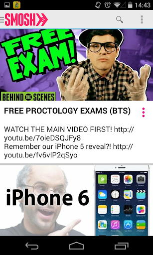 Smosh- The Unofficial App