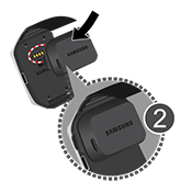 Charge your Samsung Gear Live