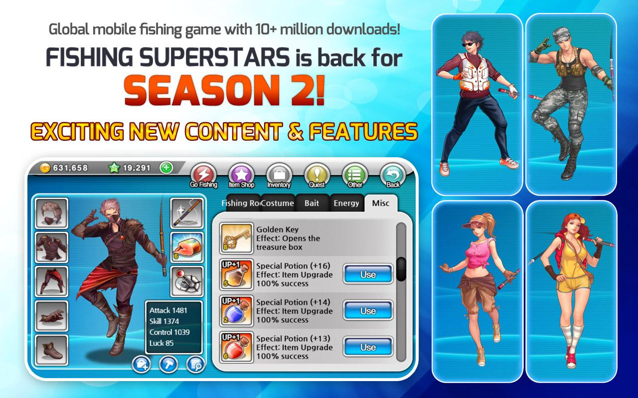 Fishing Superstars: Season 2 - screenshot