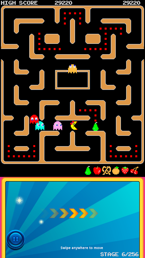 Ms. PAC-MAN Demo by Namco - screenshot