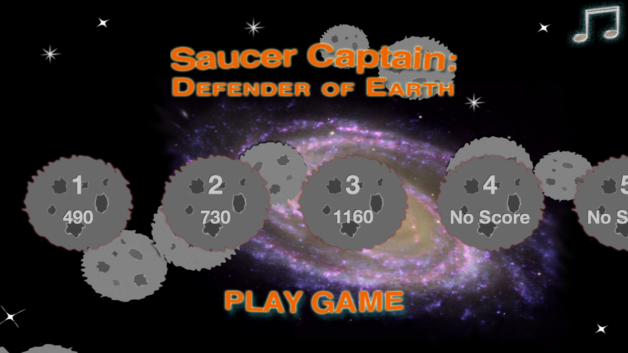 Saucer Captain: Earth Defender - screenshot
