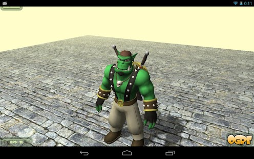 Ogre3D - Samplebrowser- screenshot thumbnail