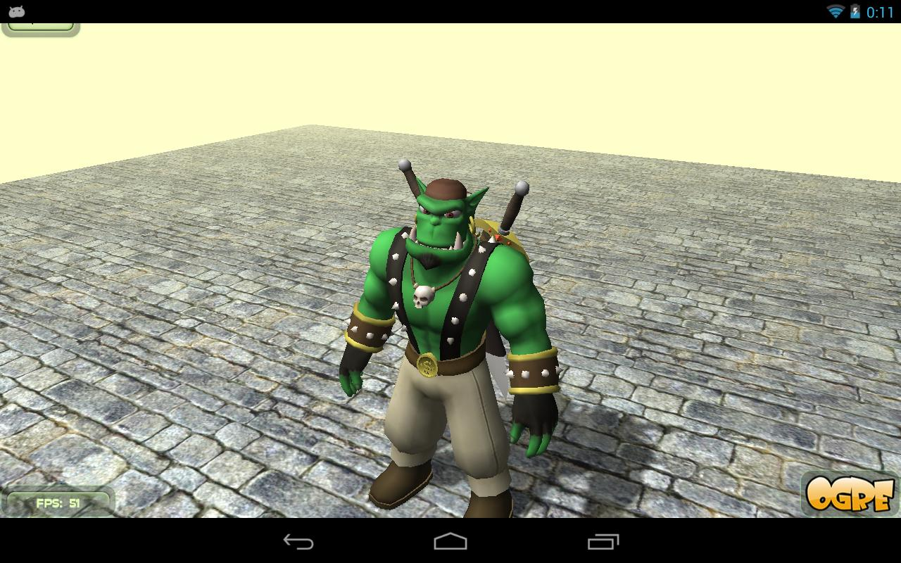 Ogre3D - Samplebrowser- screenshot