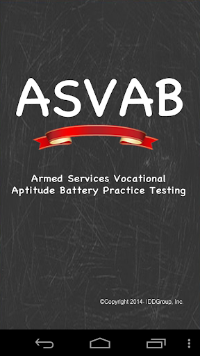 ASVAB - Armed Services Test