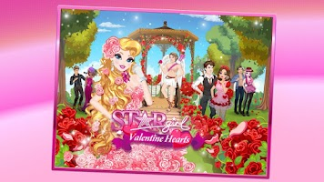 Screenshot of Star Girl: Valentine Hearts