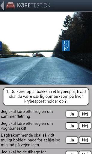 【免費交通運輸App】Køretest dk - teoriprøver-APP點子