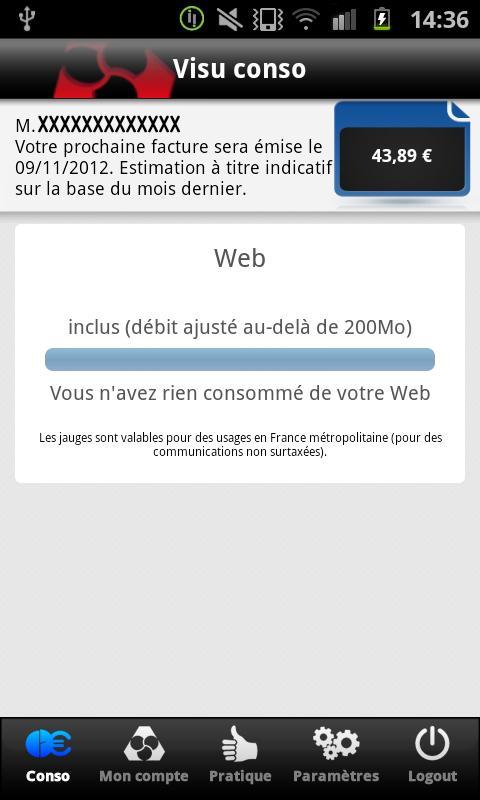 Crédit Mutuel Mobile - screenshot