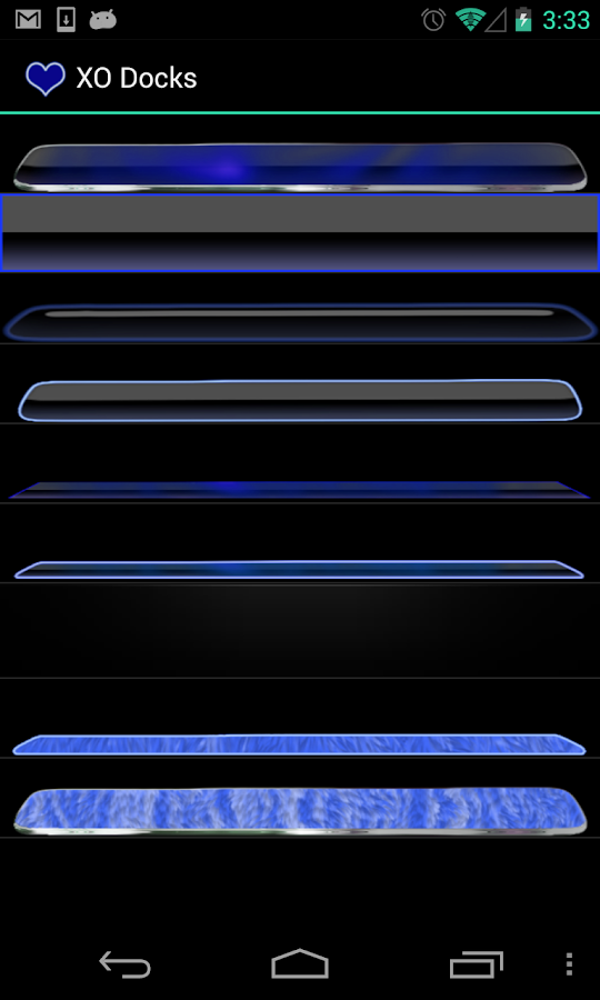 Blue Neon Complete 4 Themes- screenshot