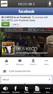 KECO 96.5- screenshot thumbnail