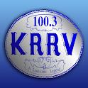 100.3 KRRV logo