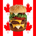 Canadian Fast Food Calorie App icon