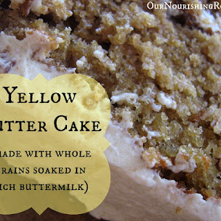 Yellow Butter Cake Without Milk Recipes.