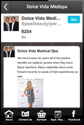 玩商業App Dolce Vida Med Spa免費 APP試玩