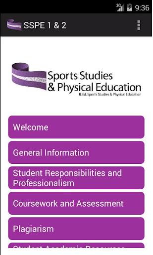 SSPE Handbook - Years 1 and 2