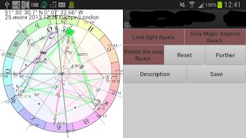 Screenshot of Horoscope