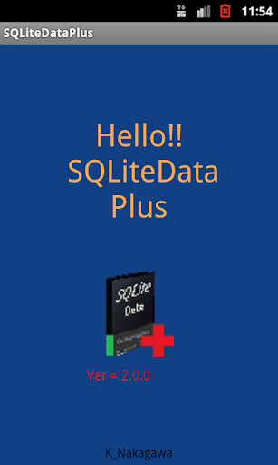 SQLiteDataPlus database