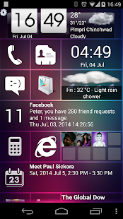 Home 8+ like Windows8 Launcher- screenshot thumbnail