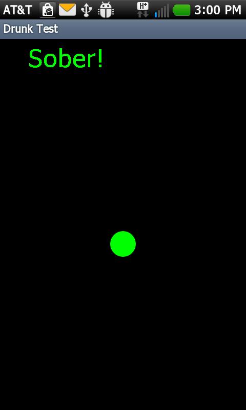 Drunk Test- screenshot