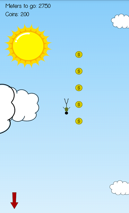 Stickman Parachute Action - screenshot