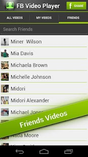 FB Video Player - screenshot thumbnail