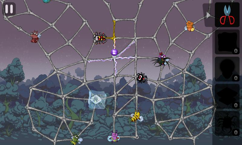 Greedy Spiders 2 - screenshot