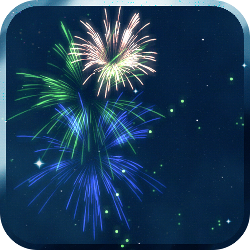 KF Fireworks Live Wallpaper 個人化 App LOGO-APP試玩