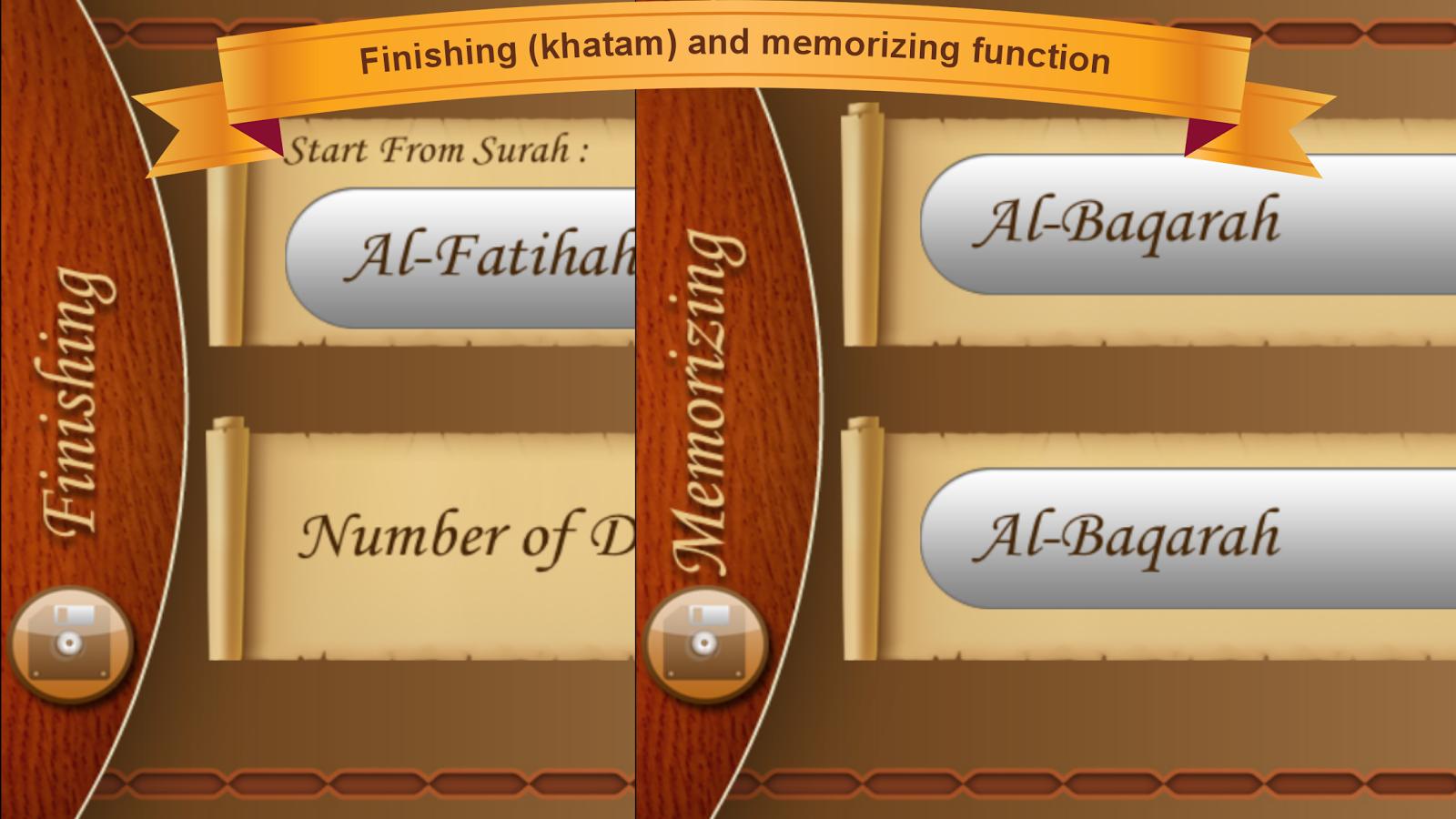 MyQuran v.3 Lite Quran - screenshot