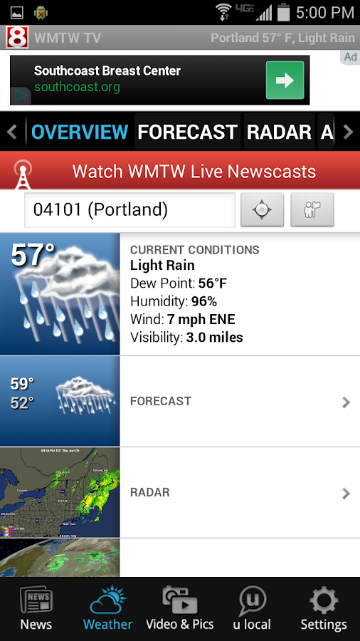 WMTW News 8 and Weather - screenshot