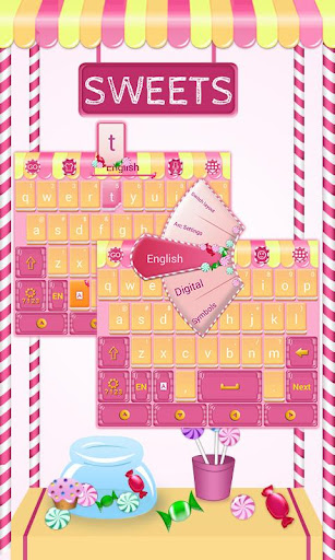 Sweets GO Keyboard Theme