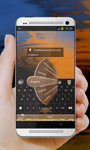 沙漠沙丘 GO Keyboard Theme