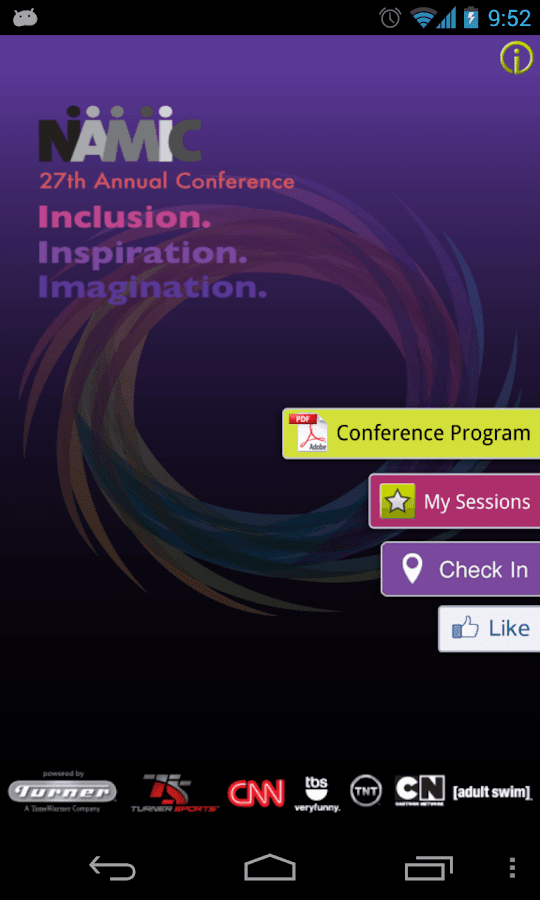 NAMIC Conference - screenshot