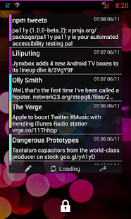 Porch social widget- screenshot thumbnail