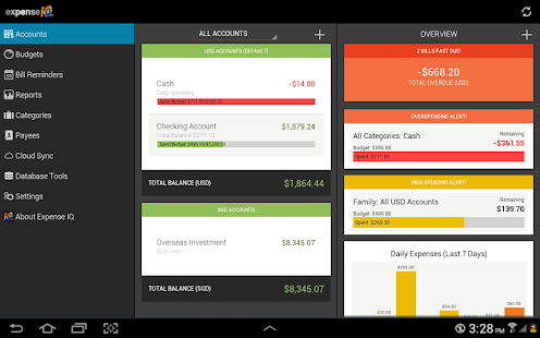 Expense IQ - Expense Manager - screenshot thumbnail