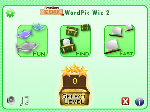 BrainTrain Edu WordPic Wiz 2