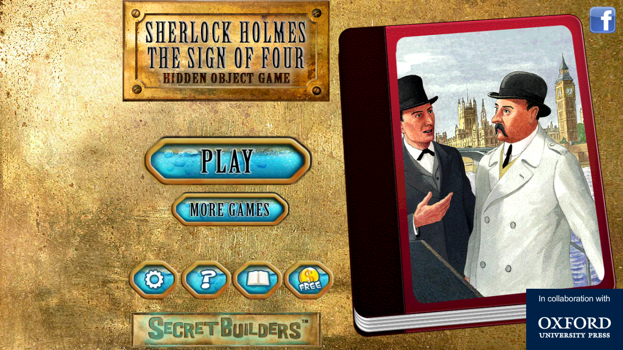 Hidden Object Game: Sherlock 4 - screenshot