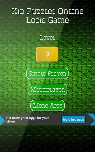 Kid Puzzles Online Logic Game