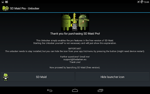 SD Maid Pro - Unlocker APK for Bluestacks