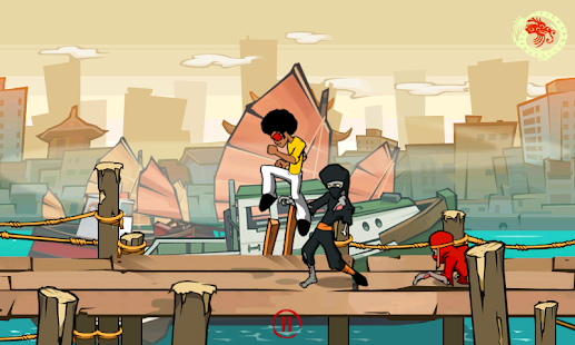 Funky Fighter vs Zombie Ninjas- screenshot thumbnail