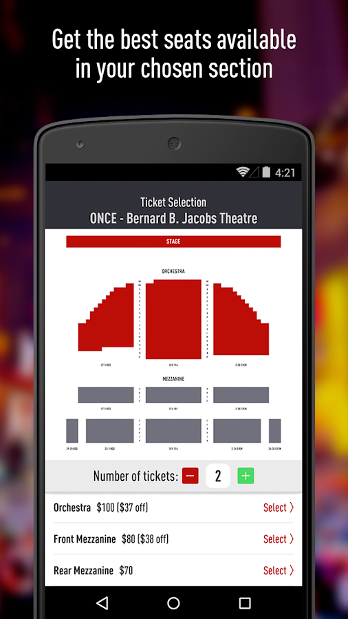 TodayTix – NYC Theater Tickets - screenshot